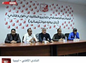 Conferenza stampa: Montesano in Libia